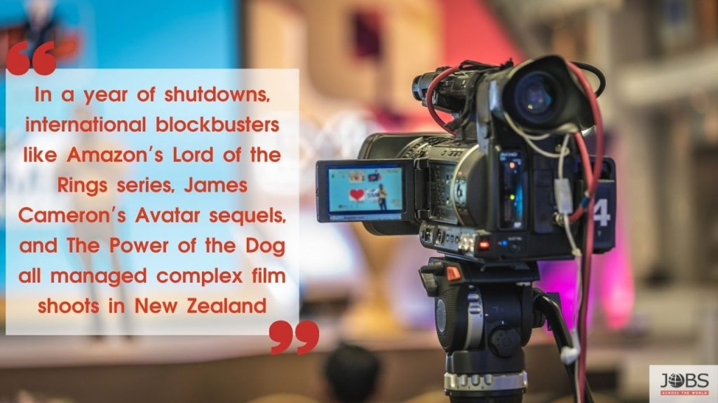 Movie Makers in New Zealand
